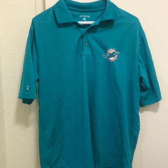 Antigua Other - Miami Dolphins polo